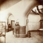 Exhibition photograph - exhibition hall in the Hungarian Pavilion, Milan Universal Exposition 1906