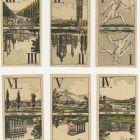 Playing card - Tarot with views of Vienna