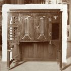 Exhibition photograph - cigar cabinet, Christmas Exhibition of The Association of Applied Arts 1901