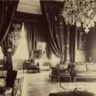 Interior photograph - so called empire salon in the Palace of Alajos Károlyi (Estreházy str., today Pollack M. sq.)