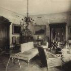 Interior photograph - grand salon in the Pálffy Castle of Bazin
