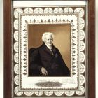 Ceramic picture - Portrait of Alexander von Humboldt