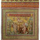 Tapestry - so called Medici tapestry - Playing putti III (putti with lion)