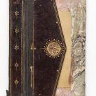 Könyvborító (jild-i kitab) fele