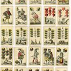 Playing card - so called Four Seasons Card