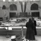 Architectural photograph - great hall of the Museum of Applied Arts after the 1956 revolution