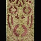 Bársonyszövet (miseruha részlete)