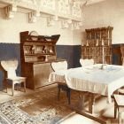 Exhibition photograph - dining room, Milan Universal Exposition 1906