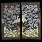 Ruharészletek - Panel's of a Mandarin square