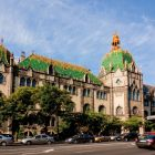 Architectural photograph - main facade, Museum of Applied Arts