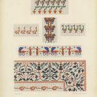 Design sheet - cross-stich patterns