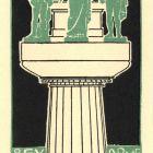 Ex-libris (bookplate) - Viktor Molnár