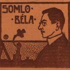 Ex-libris (bookplate) - Béla Somló