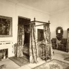 Interior photograph - bedroom in the Pálffy Castle of Bajmóc