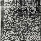 Design for a stained glass window - for the Museum of Applied Arts