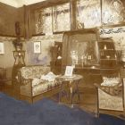Exhibition photograph - salon, Christmas Exhibition of The Association of Applied Arts 1899