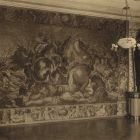 Interior photograph - tapestry room in the Erdődy Castle of Galgóc