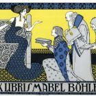 Ex-libris (bookplate) - Mabel Böhler