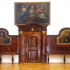 Refectory furniture - from the Jesuit monastery of Trencsén