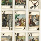Playing card - Tarot cards with characters from literature
