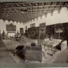 Interior photograph - so called dispensorium room in the Pálffy Castle of Bajmóc