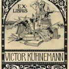 Ex-libris (bookplate) - Victor Kühnemann