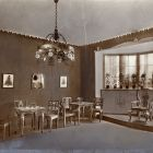 Exhibition photograph - story telling room for day-boarders, Children's Art Exhibition of The Association of Applied Arts 1914
