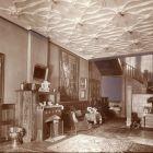 Interior photograph - hall of a detached house (Munkácsy str. 16., Budapest)