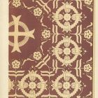 Design sheet - design for embroidered chalice cover