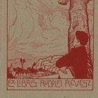 Ex-libris (bookplate) - Rudolf Révész