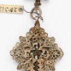 Breast pendant, cross-shaped
