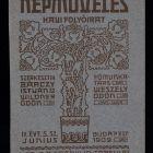 Coverpage - for the periodical Népműveles (Public Education)