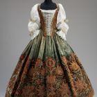 Skirt - presumably from the wardrobe of Orsolya Esterházy