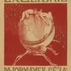 Ex-libris (bookplate) - Dr. Géza Lobmayer