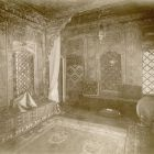 Exhibition photograph - the Damascus Room exhibited in the Museum's building on the Andrássy avenue in 1885
