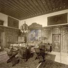 Interior photograph - study in the Pálffy Castle of Bajmóc