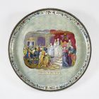 Grand ornamental dish - with the scene from Hungarian history 'vitam et sanguinem'