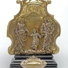Altar ornament - with the depiction of the Holy Family