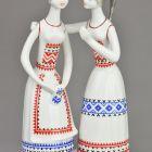 Statuette (Figure) - Chatting Girls