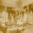 Interior photograph - salon in the Palace of Aladár Andrássy (Andrássy str.59)