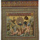 Tapestry - so called Medici tapestry - Playing putti IV (putti with peacock)