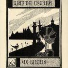 Ex-libris (bookplate) - Iván Csorba
