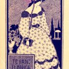 Ex-libris (bookplate) - Ilonka Tevan