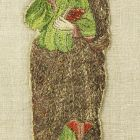 Hímzett figura (kazulakereszt részlete)