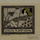 Ex-libris (bookplate) - Aladár Schilling