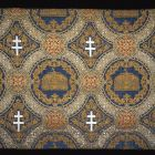 Textile wall covering - for the Saint Stephen room, Buda Castle