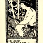 Ex-libris (bookplate) - Ferenc Martos