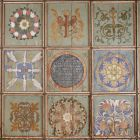 Painted wooden ceiling - from the Calvinist church of Maksa