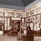 Exhibition photograph - Hungarian Pavilion, exhibition of the National School of Art and the Royal National School of Applied Arts, Milan Universal Exposition 1906