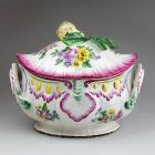 Tureen with lid